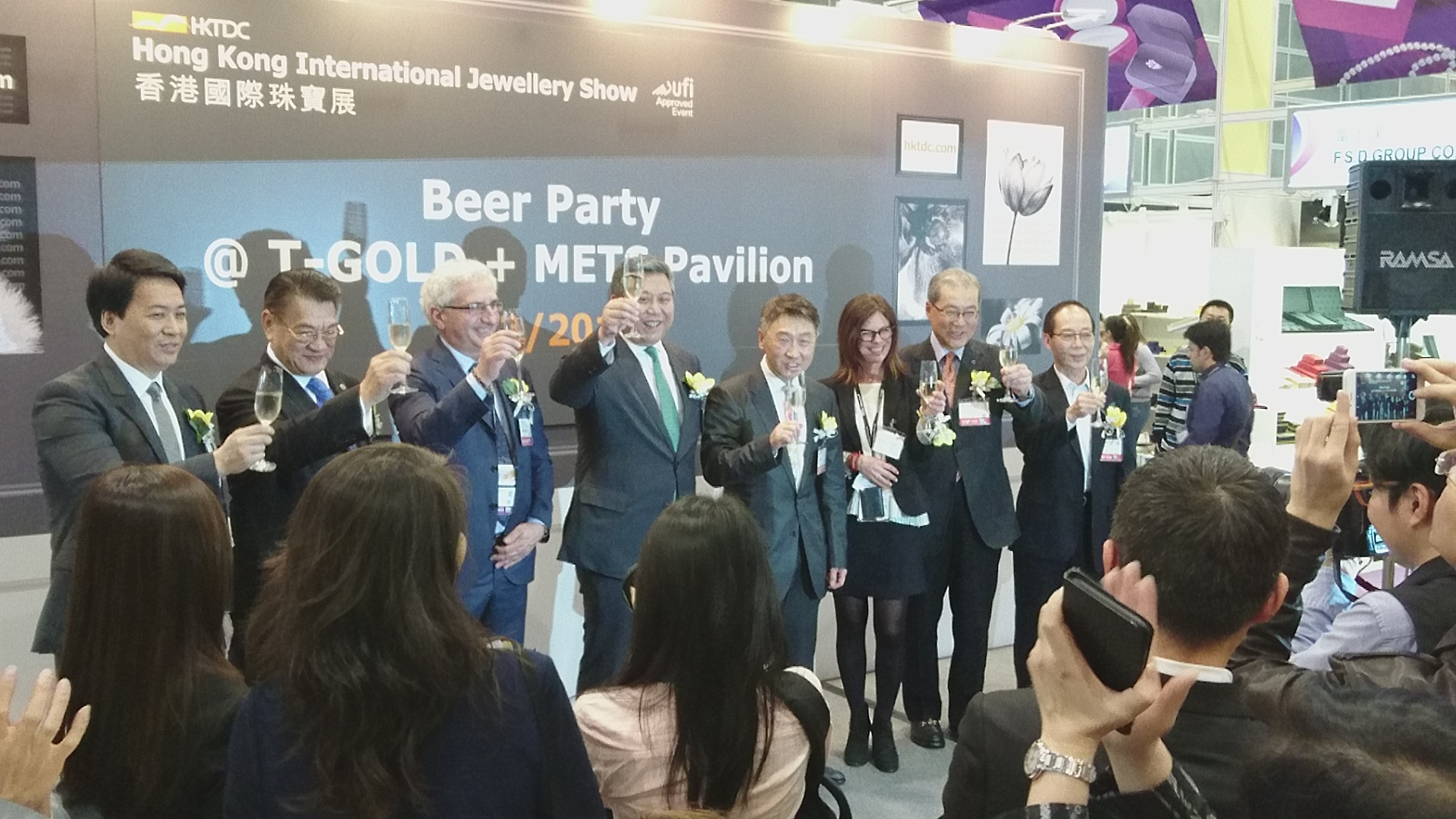 Successful launch of Asia's best jewel tech pavilion